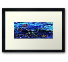 Lipstick Fish Framed Print