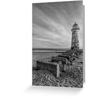 Olde Lighthouse Greeting Card