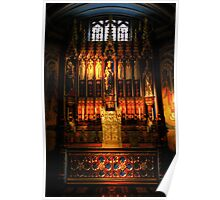 Blessed Sacrament - Leeds Cathedral Poster