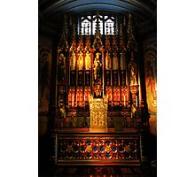 Blessed Sacrament - Leeds Cathedral Photographic Print