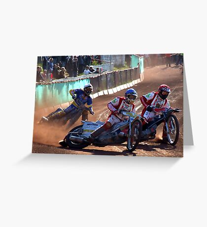 Glasgow Speedway Greeting Card