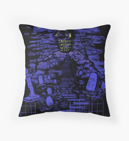 All Hallows Eve Throw Pillow