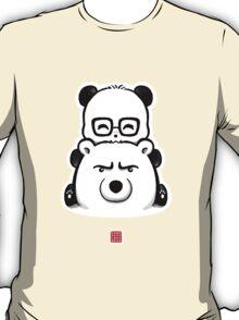 Panda And Polar Bear T-Shirt