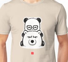 Panda And Polar Bear Unisex T-Shirt
