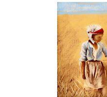 A Girl In a Field by KeLu