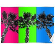 80s Palms  Poster