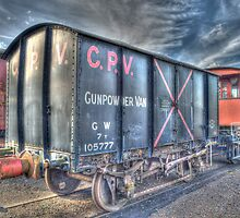 Railway Gunpowder Wagon by Chris Thaxter