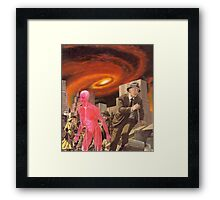 M Blackwell - It's Hard to Escape the End of All Things... Framed Print