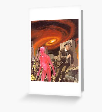 M Blackwell - It's Hard to Escape the End of All Things... Greeting Card