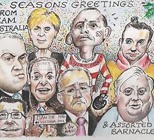 Team Australia - End of year greetings 2014  by Gary Shaw
