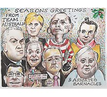 Team Australia - End of year greetings 2014  Photographic Print