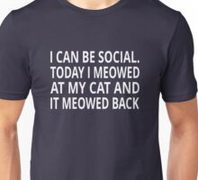 I Can Be Social Unisex T-Shirt