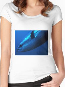 Bluefin Tuna Women's Fitted Scoop T-Shirt