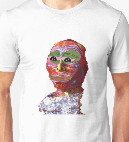 Annabel Meme Reader The Wytches Pepe w/o background Unisex T-Shirt