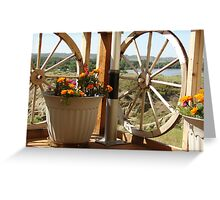 On the Yellowstone, Miles City MT Greeting Card
