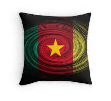 Cameroon Twirl Throw Pillow