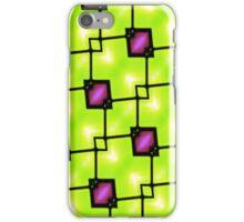 Trendy Neon Graphic Geometric Fashion iPhone Case/Skin