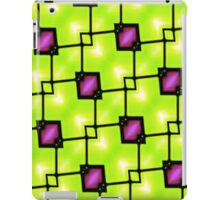 Trendy Neon Graphic Geometric Fashion iPad Case/Skin