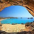 A cave in Xerokambos - Crete island by Hercules Milas