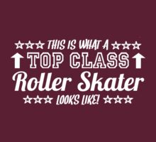 This Is What A Top Class Roller Skater Looks Like by Chimpocalypse