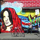 Madonna Graffiti by Roz McQuillan