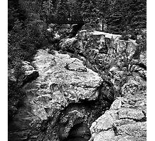 River Slot Photographic Print