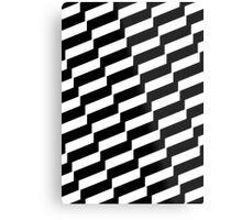 Black And White Trendy Fashion Accessory  Metal Print