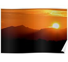 Snowdon Sunrise Poster