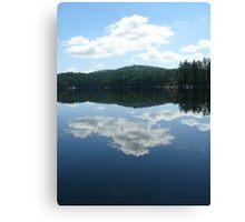 Mirror Image 2 - Killarney Lake, Ontario Canvas Print