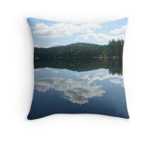 Mirror Image 2 - Killarney Lake, Ontario Throw Pillow