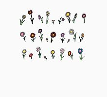 A happy flower garden just for you Womens Fitted T-Shirt