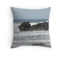 Though The Waves Crash I Will Stand Throw Pillow