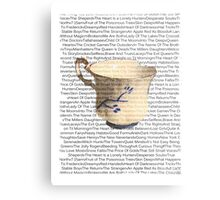 Episodes Chipped Cup Metal Print