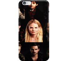 Characters Poster iPhone Case/Skin