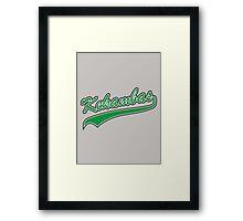 Kekambas Baseball Team Hardball Framed Print