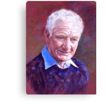 Portrait of Alan Bidstrup Canvas Print
