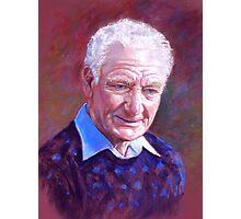 Portrait of Alan Bidstrup Photographic Print