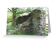 Cunsey Forge, Lake District, Cumbria, England. Greeting Card