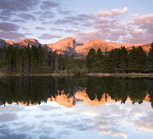 Sprague Lake Rocky Mountain National Park, Colorado by Teresa Smith