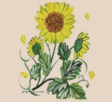 Sunflower Tee by Ginger Lovellette