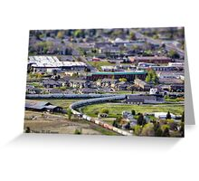 View of Kalispell Greeting Card