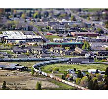 View of Kalispell Photographic Print