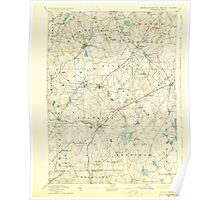 Massachusetts  USGS Historical Topo Map MA Franklin 352681 1893 62500 Poster