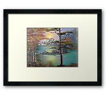 Majestic Cove Framed Print