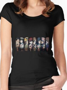 Steins;Gate Ultimate ! [HD] Women's Fitted Scoop T-Shirt