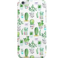 Watercolour Succulents iPhone Case/Skin