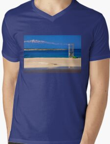 Two seasons in one photo Mens V-Neck T-Shirt