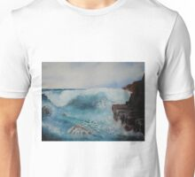 Study of waves on rocks Unisex T-Shirt