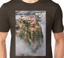 The flying monastery-Meteora Unisex T-Shirt