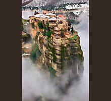 The flying monastery-Meteora Unisex T-Shirt